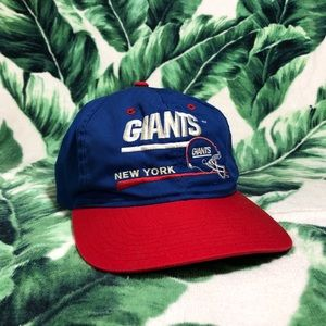 Vintage 80s / 90s New York Giants Snap Back Hat